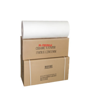 Water Soluble Tissue Refractory Insulation Ceramic Fiber Paper HD1350 pictures & photos
