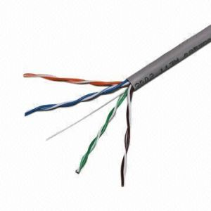 UTP Cat 5e Network Cable 305m CCA LAN Cable pictures & photos