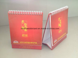 Different Shape of Desk Calendar with Paint Color Card pictures & photos