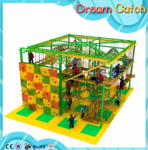 Customzied Design Available Kids Indoor Rope Course for Play Center pictures & photos