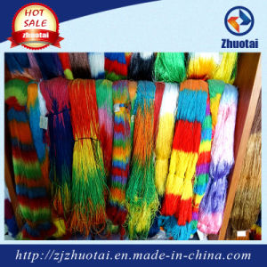 China Manufacturer Polyester Space Dyed Yarn 150d Fashion Fancy Yarn pictures & photos