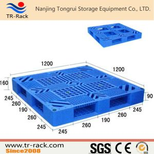 Four Entry Direction Way Plastic Pallet for Warehouse Racking pictures & photos