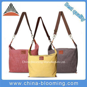 Canvas Crossbody Bag Shouder Messenger Leisure Bag for Women pictures & photos