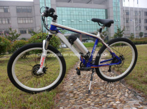 27 Speed Electric Mountain Bike with Front Drive pictures & photos