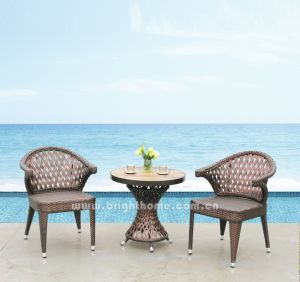 Outdoor Wicker Dining Chair and Table Set pictures & photos