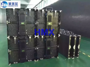 Indoor/Outdoor P3.91/P4.81/P5.95 Die-Casting Aluminum Cabinet LED Display Screen for Rental pictures & photos