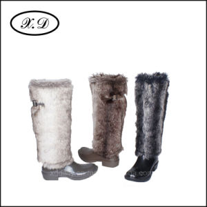 High Upper Rain Fashion Boots for Woman pictures & photos