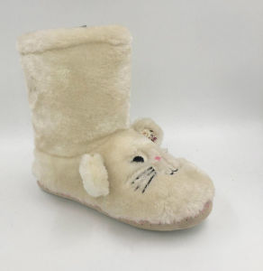 Childrens High Boots with Fur pictures & photos
