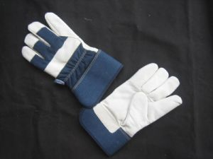 Thinsulate Lined Cow Grain Leather Work Glove (3106) pictures & photos