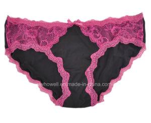 Nylon Lace Sexy Lady′s Bikini pictures & photos