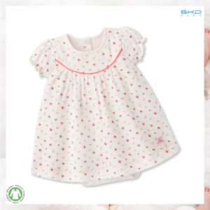 Floral Infant Clothes All-Over Printing Baby Dress pictures & photos