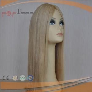Human Remy Hair Mono Women Topper Toupee pictures & photos