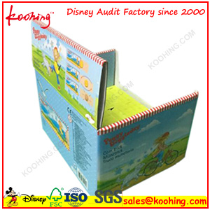 Black Promotional Corrugated Hang Box with Clear PVC Window pictures & photos