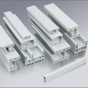 UPVC Profile with Different Section Plastic Profile in China pictures & photos