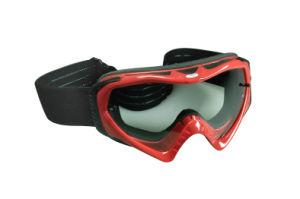 Flexible Frame Tear off Sheet Moto Goggles pictures & photos