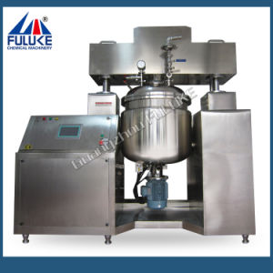 Guangzhou Fuluke Pharmaceutical Macking Machine Vacuum Emulsifying Mixer Machine pictures & photos