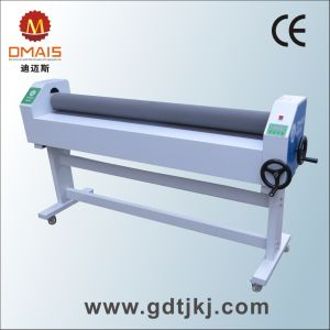 Dmais Manual Hot and Cold Laminator Roll to Roll pictures & photos