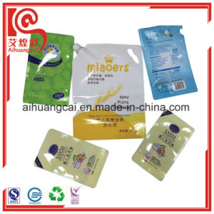 Stand up Plastic Bottle Bag for Detergent Packaging pictures & photos