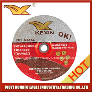 """T27 Depressed Center Grinding Disc for Metal 4""""X1/4""""X7/8"""" pictures & photos"""