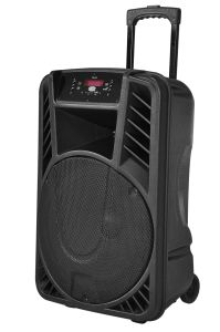 15 Inch Battery Portable Multimedia Trolly Bluetooth Speaker pictures & photos