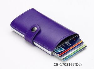 Lady′s Fashion Quality PU Leather Purse (CB-1703167)