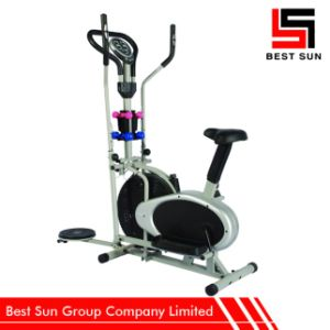 Fitness Exercise Cross Trainer, Multifunction Elliptical Bike pictures & photos