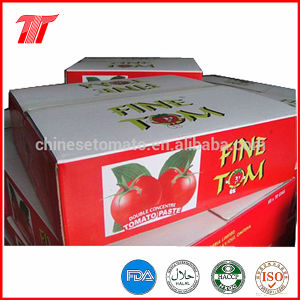 400g Fine Tom Organic Canned Tomato Paste with Good Quality pictures & photos