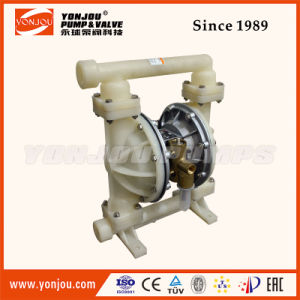 Qby Pneumatic Diaphragm Pump PTFE Lined Wite Teflon Diaphram pictures & photos