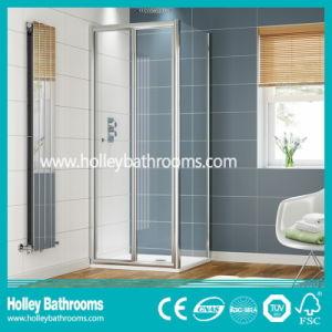 Shower Aluminium Folding Pivor Door with Tempered Laminated Glass (SE920C)