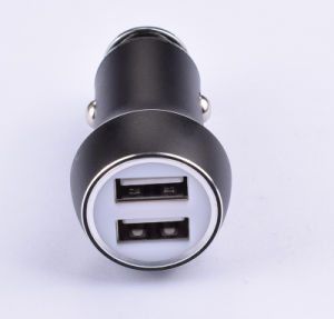 Fashion 2 Ports 2.1A Max Mobile Phone Car Charger pictures & photos