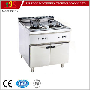 Hotel Use Double Tank Fryer for Kitchen Fryer pictures & photos