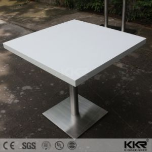 Square Solid Surface Fast Food Restaurant Dining Table (T1707271) pictures & photos