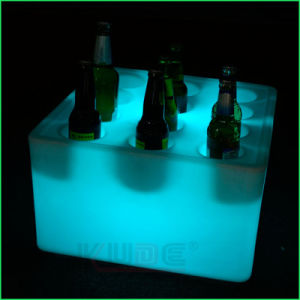 Light up Plastic Ice Bucket with Rgw Lights pictures & photos
