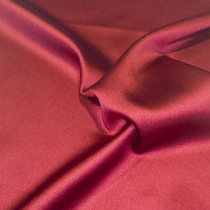 Satin Polyester Fabric for Full Dress Shirt Skirt Table Clothes Bag Curtain pictures & photos