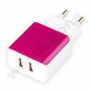 Business Style 2 USB Metal Charger pictures & photos