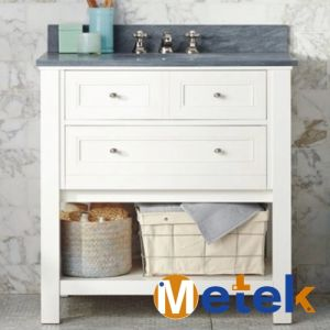 Solid Wood High Quality Vanity Bathroom Cabinet pictures & photos