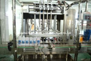 Guangzhou Liquid Detergent Filling Machine with Capping Line pictures & photos