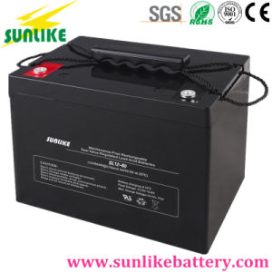 12V85ah Rechargeable Solar Power/UPS Battery for Power Plant pictures & photos