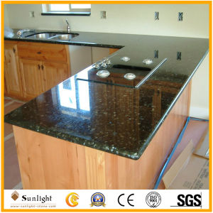 Flat/Laminate/Bullnose/White/Green/Blue Granite/Marble/Quartz Stone Vanity/Table/Island Counter Tops for Kitchen or Bathroom pictures & photos
