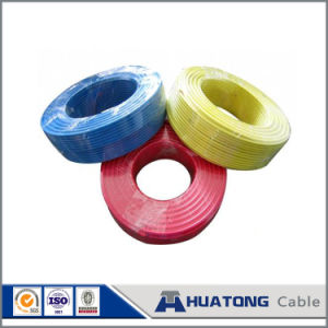 Earthing Copper Conductor PVC Insulated Wire Green Yellow Earth Wire pictures & photos