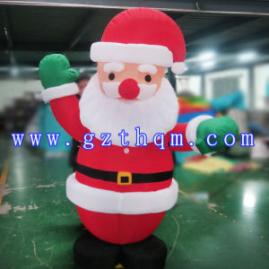 Supplier Lowes Christmas Inflatables Santa Claus/Design Lovely Inflatable Christmas Santa Claus pictures & photos