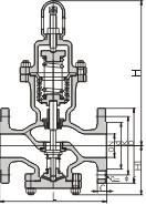 Y44h/Y Bellows Steam Pressure Reducing Valve (PRV) pictures & photos