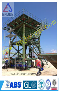 Port Handling Machine Dust Collector Mobile Hopper Rubber Type Hopper with Dust Catcher pictures & photos
