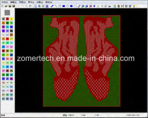 CAD Software for Jacquard Design of Warp Knitting Machine/Karl Mayer Machine pictures & photos