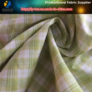 Yellow Yarn Dyed Nylon Fabric in Soft Handfeeling pictures & photos