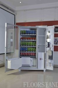 Cold Bottled Water Vending Machine Supports Credit Card NFC and Digital Payment pictures & photos