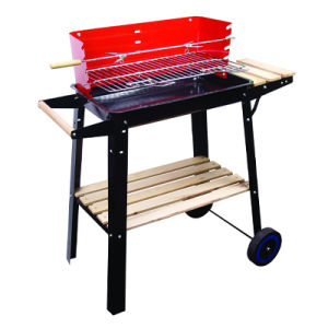 Metal Frame Square Picnic Barbecue Grill pictures & photos