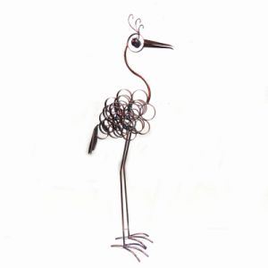 Rusty Flamingo Metal Animal Home and Garden Decoration pictures & photos