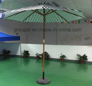 New Product, Environmental Protection Material, Wood Parasol, Stripe Leisure, Portable pictures & photos