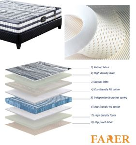Hot Sale Wonderful Newest Sweet Dreams Latex Foam Mattress pictures & photos